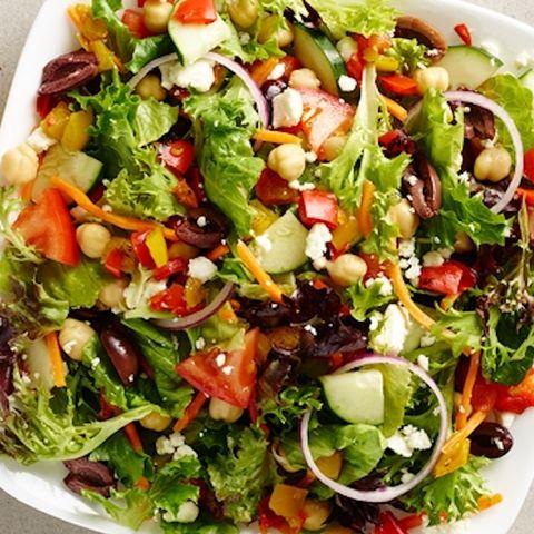Au bon pain vegetarian deluxe salad