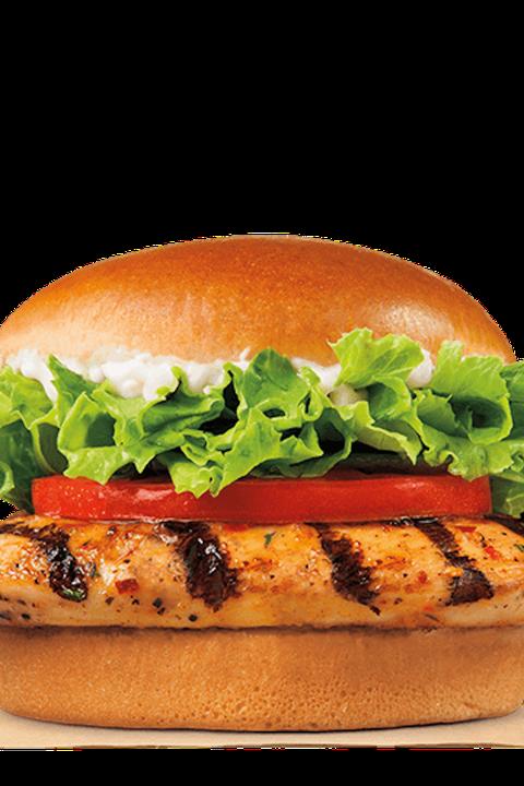 Burger King Grilled Chicken Sandwich