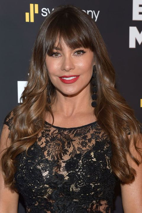 Sofia Vergara Ombre Hair