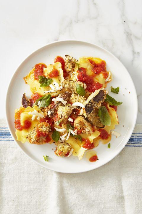 Low Calorie Meals Speedy Eggplant Parmesan