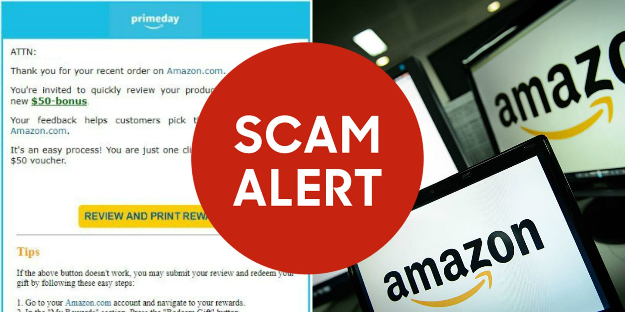 Amazon Users, Beware of This Reported Prime Day Email Scam