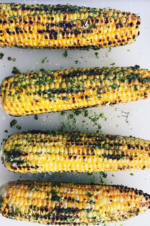 Chile Lime Grilled Corn - Labor Day Recipes