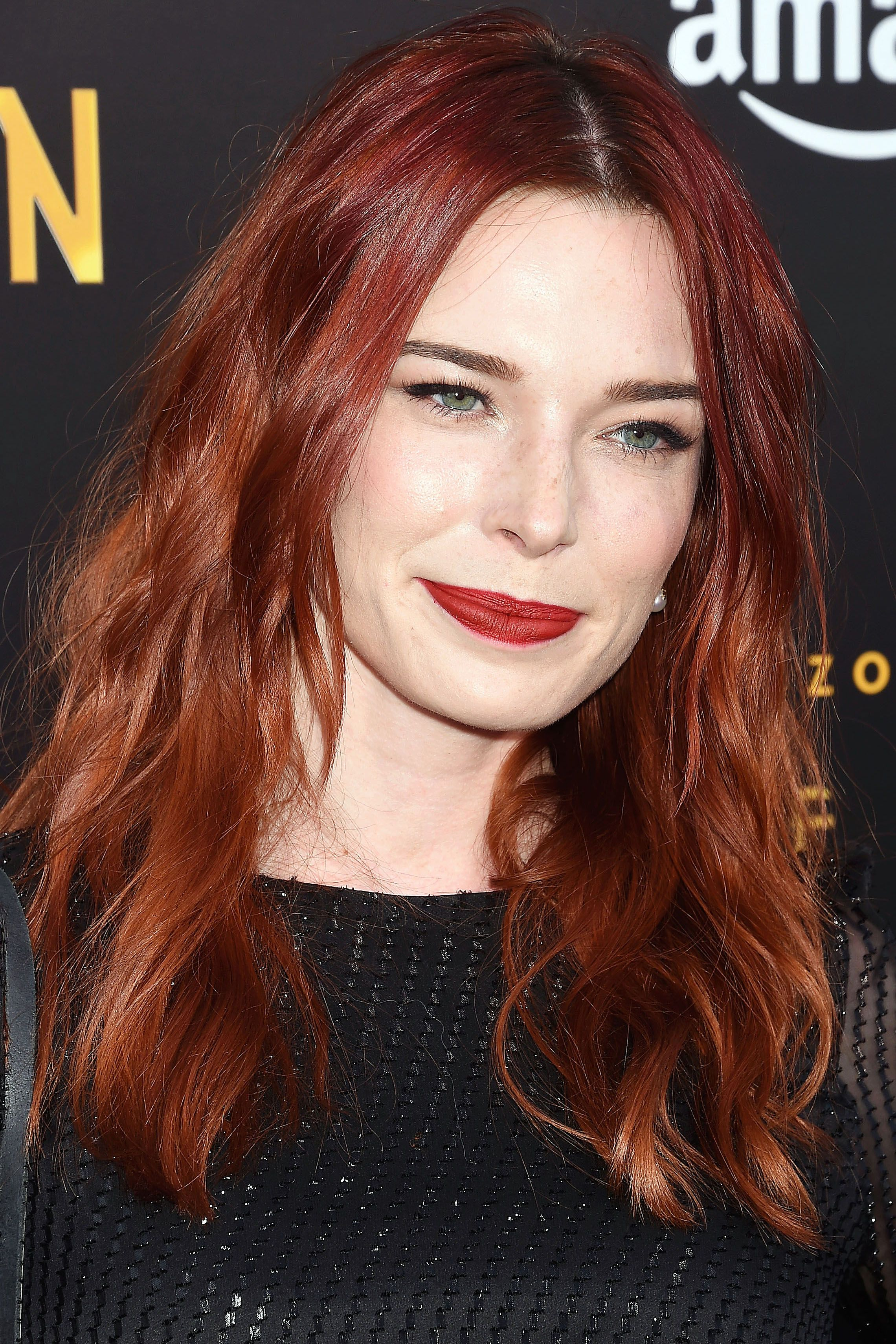 Luxury Red Hair Colors for Pale Skin