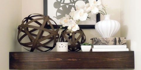 newest abe69 9f074 Ideas for Floating Shelves - Floating Shelf Styles