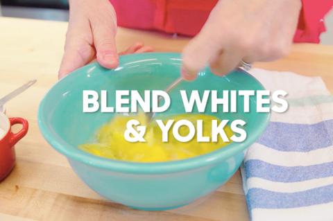 How to Make Scrambled Eggs: Blend Eggs