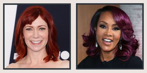 17 Burgundy Hair Color Ideas - Celebrity Burgundy Hairstyles