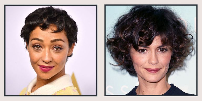 19 Celebrity Short Curly Hair Ideas - Short Haircuts and ...