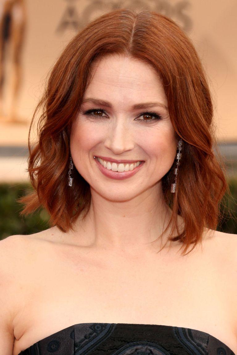 auburn warm shade shades redhead colors dark celebrities famous kemper capelli tinte getty cheveux ellie disimpan shorthairstylesforwomen dari tibiaent antonina