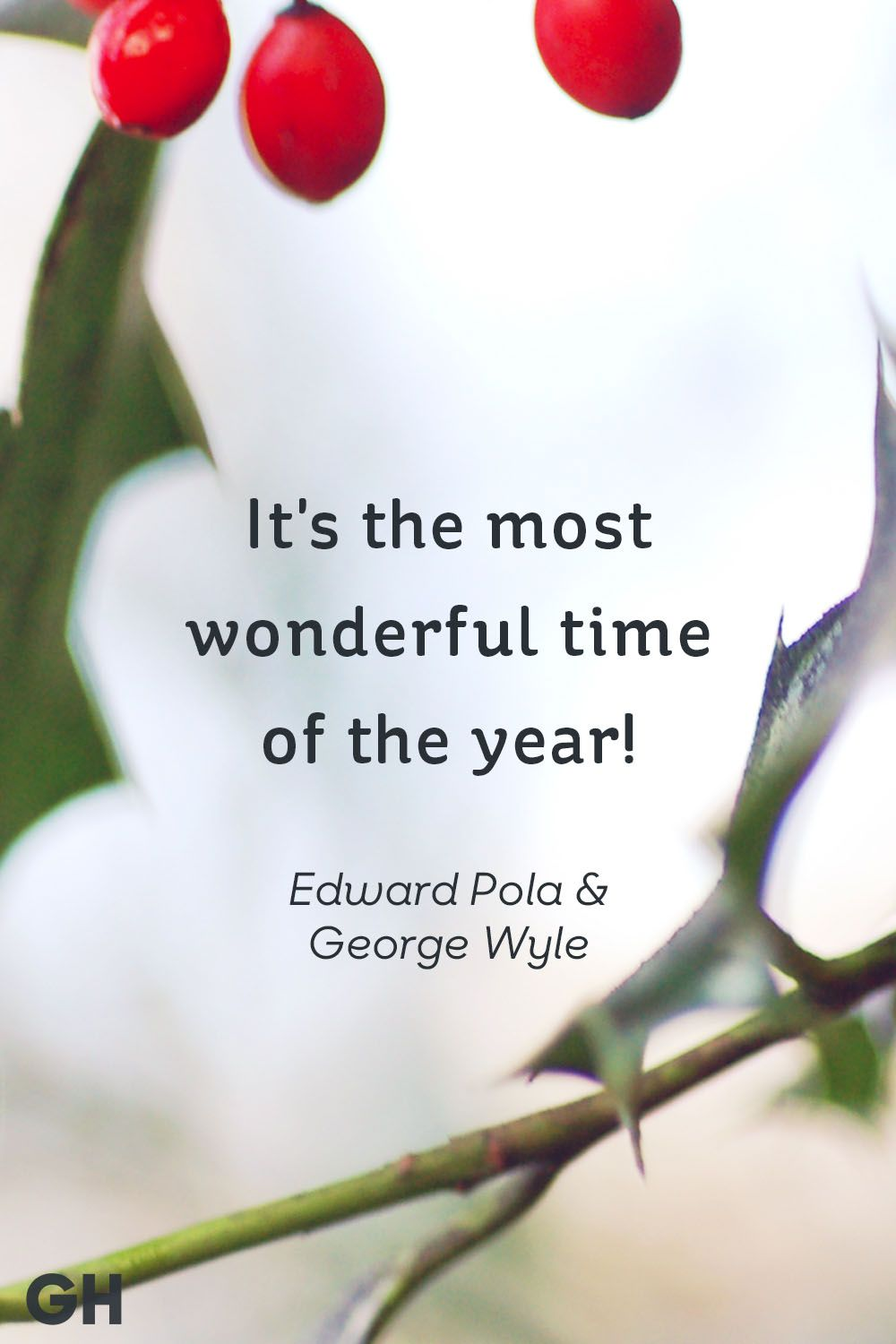 Edward Pola And George Wyle Christmas Quote