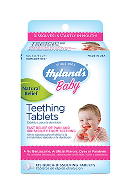 "<p>Teething is never fun for parents or baby, but finding a remedy became downright dangerous when the <a href=""http://www.goodhousekeeping.com/health/news/a40729/fda-warns-against-homeopathic-teething-products/"" data-tracking-id=""recirc-text-link"" target=""_blank"">Federal Drug Administration&nbsp;released a warning about&nbsp;Hyland's homeopathic teething products</a> after reports of infant seizures. They also found that the tablets have inconsistent levels of the toxic substance belladonna. Approximately six months after the warning, Hyland finally decided to pull their product from shelves and&nbsp;issue a voluntary recall in the United States. Always check with your pediatrician about supplements, vitamins or homeopathic remedies!</p>"