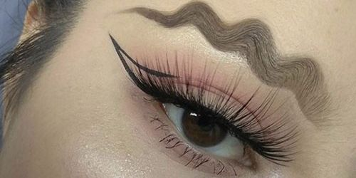 squiggly brows are the next big trend squiggly brows are in now