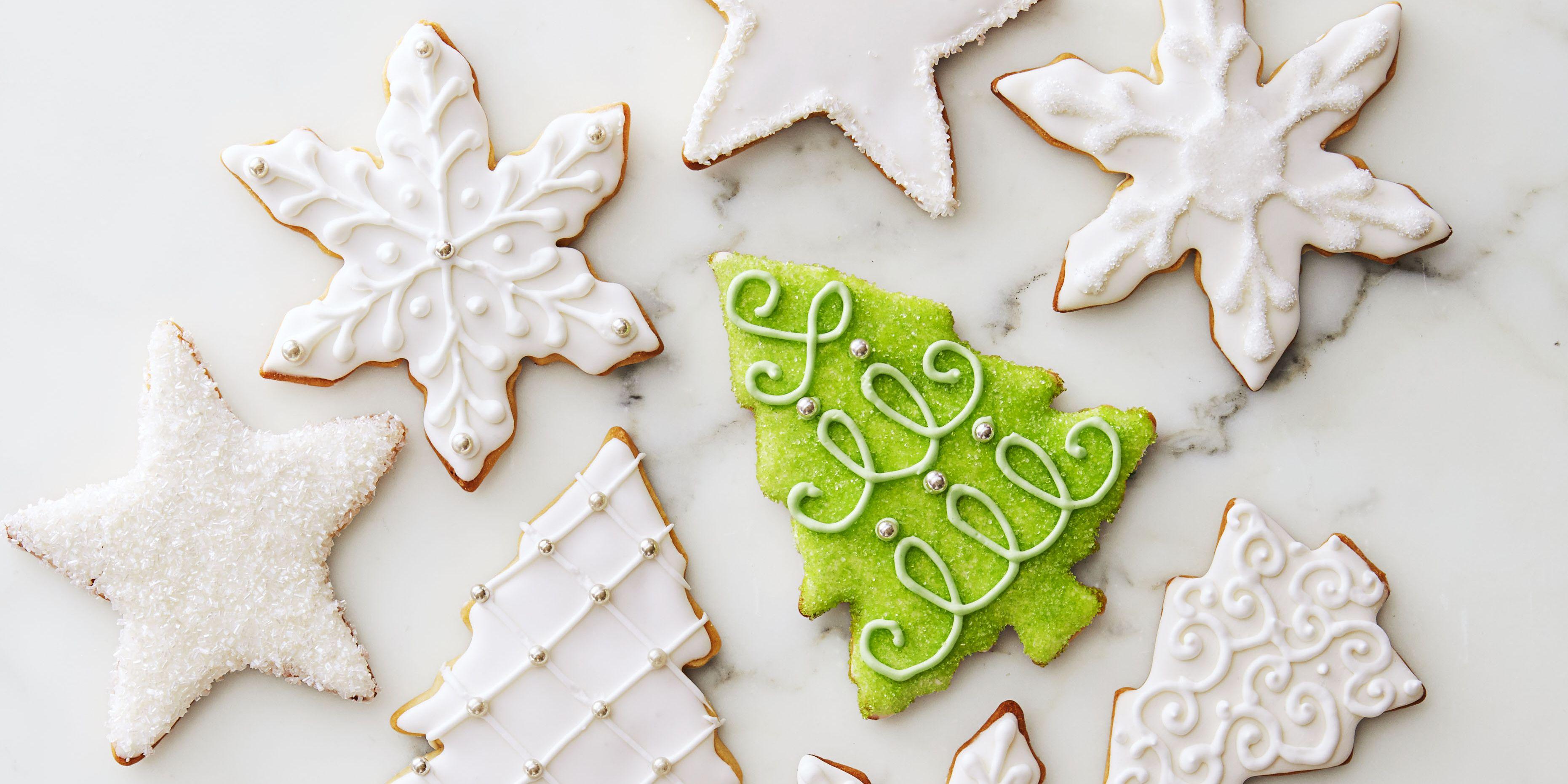 Royal Icing Christmas Cookies.Sugar Cookies