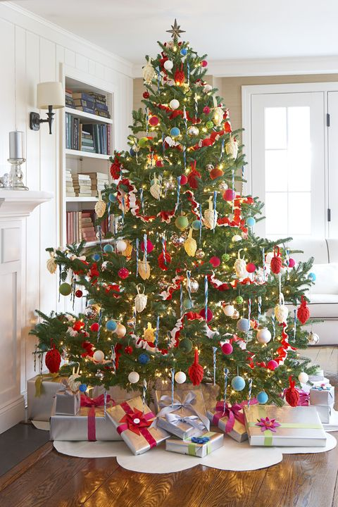 Christmas Tree Decorating Ideas.42 Unique Christmas Tree Decorations 2019 Ideas For