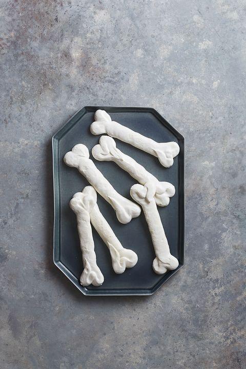scary simple meringue bones