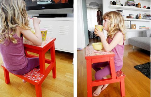 Pink, Furniture, Child, Table, Room, Chair, Toddler, Play, Toy, Sitting,