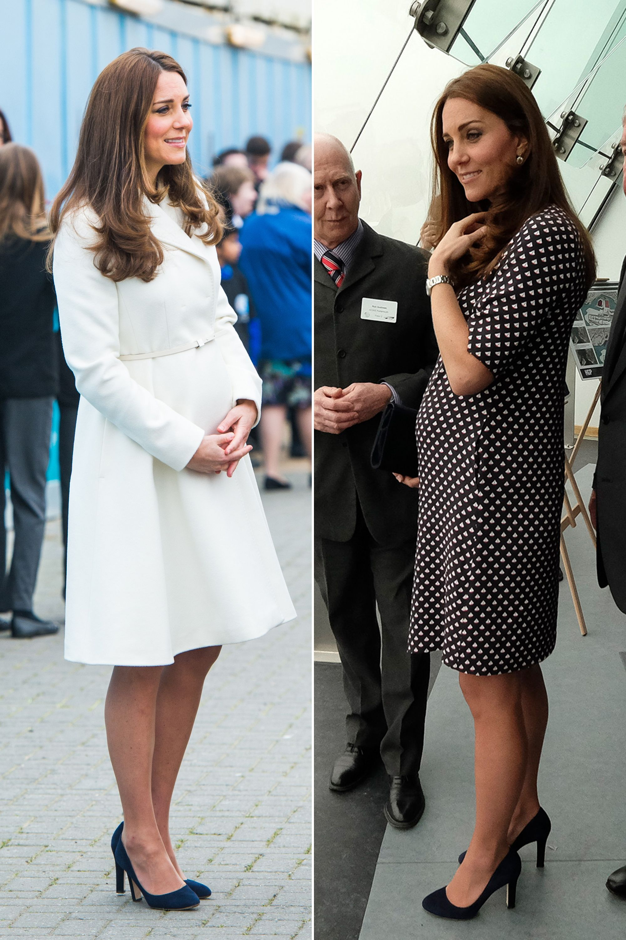 b8071d91e0cf0 50 Best Kate Middleton Pregnant Style Looks - Princess Kate Maternity  Fashion