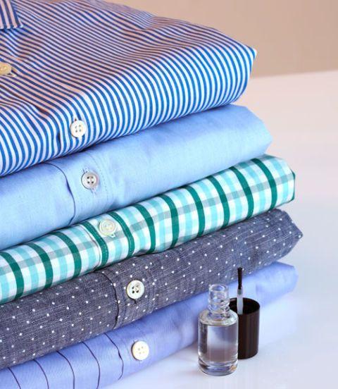 Blue, Turquoise, Aqua, Textile, Linens, Dress shirt, Linen, Furniture, Button, Bedding,