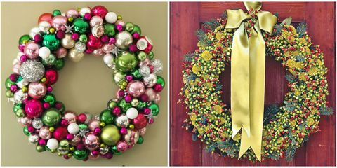 67 diy christmas wreaths how to make a holiday wreath craft christmas wreaths solutioingenieria Gallery