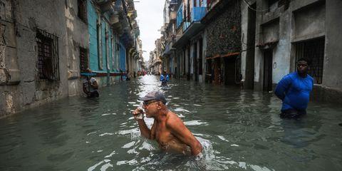 Water, Bathing, Waterway, Street, Road,