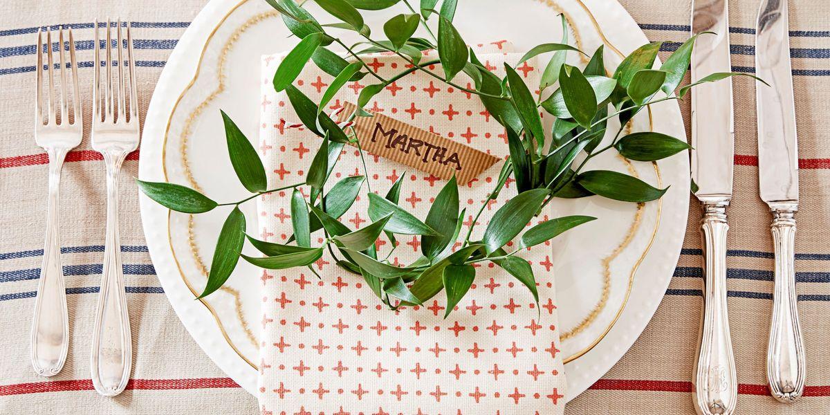 40 DIY Christmas Table Decorations and Settings ... - photo#2