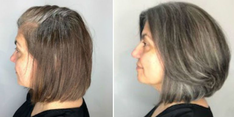 How to Go Gray - Tips for Transitioning to Gray Hair 408df75998dc