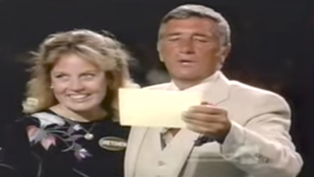 Richard Dawson Kissing on Family Feud - Richard Dawson