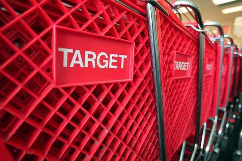 Red, Shopping cart, Vehicle, Wheel, Metal,