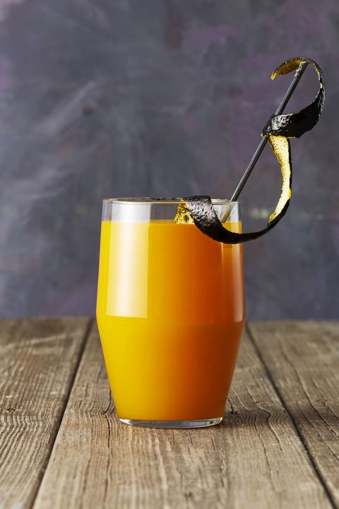 apricot bourbon brew halloween drinks