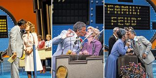 Richard Dawson Kissing on Family Feud - Richard Dawson Family Feud
