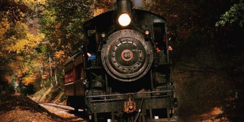 This Haunted Train Ride Is Officially The Best Way To Celebrate Halloween
