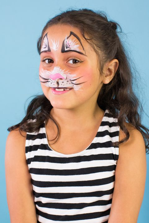 fluffy kitten halloween makeup