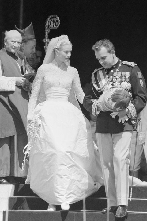grace kelly wedding dress