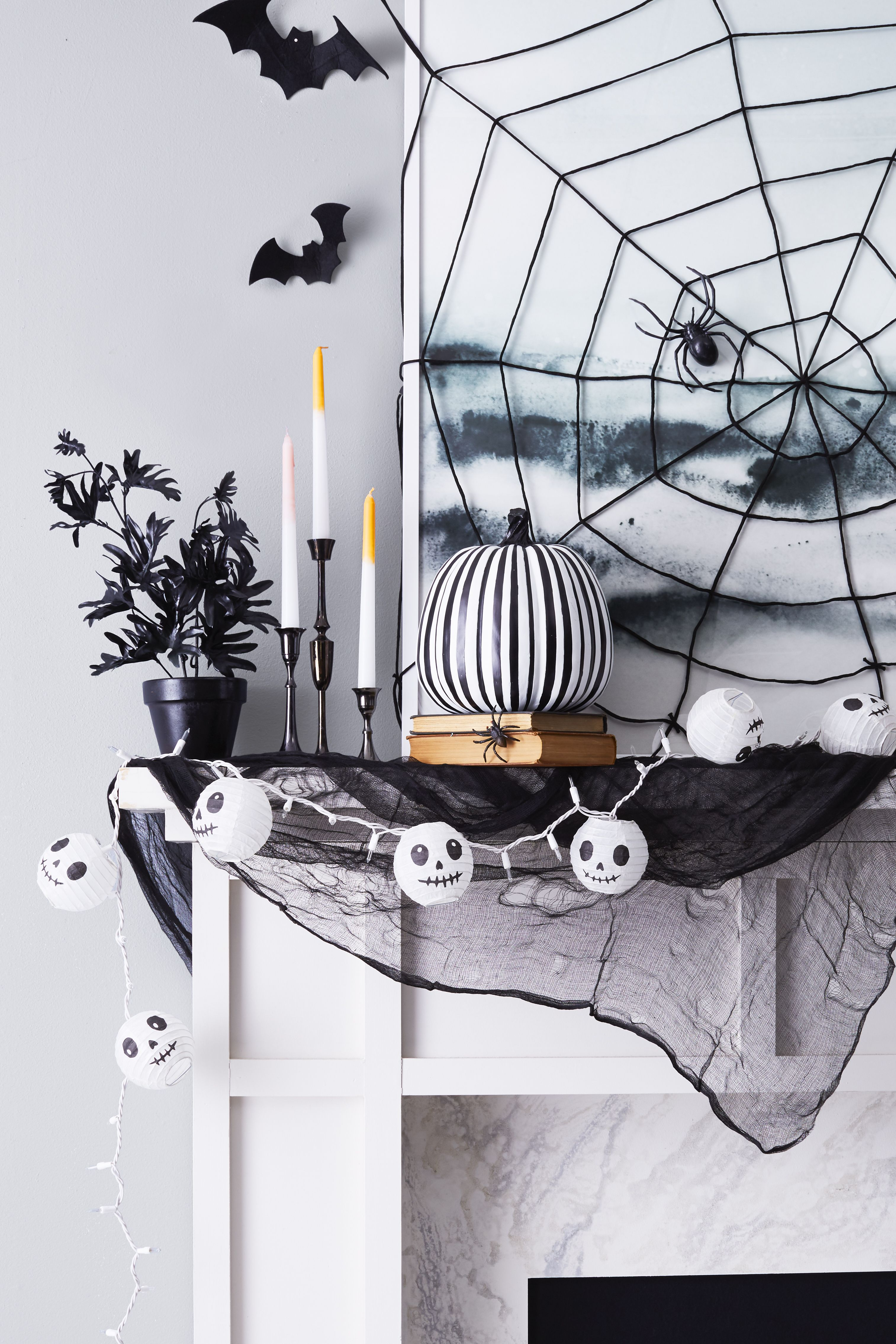 40 Creative DIY Halloween Decorating Ideas - Easy Halloween House ...