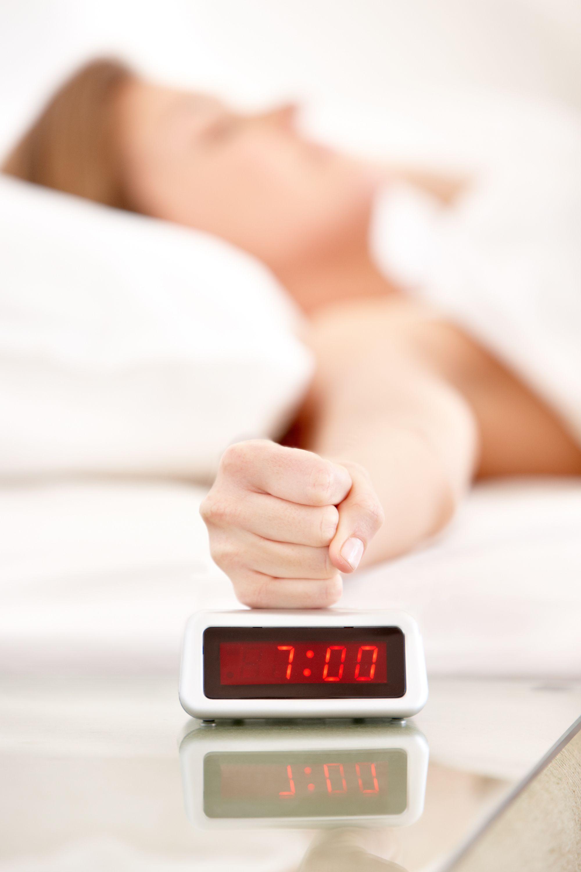 hitting alarm