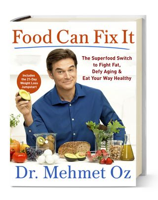 e3820f3d5b1 The doctor's latest book ($19, amazon.com) is full of what-to-eat recs to  help you feel younger, get more energy, ease common ailments and control  your ...