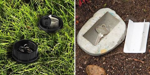 Where to Hide a Key Outside - Best Place to Hide Spare House Key