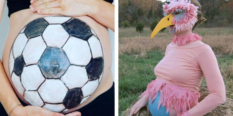 23 best pregnant halloween costumes for 2017 diy maternity costume your belly is already front and center why not make it part of your costume plus check out our best costumes for babies just in case the stork arrives solutioingenieria Choice Image