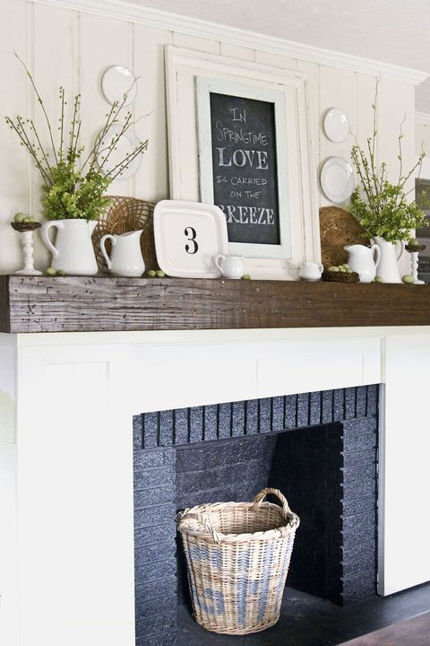 20 fireplace decorating ideas best fireplace design - Ideas to cover fireplace opening ...
