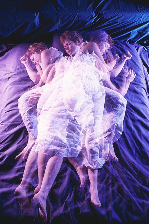 Purple, Violet, Sky, Organism, Photography, Performance, Performance art, Electric blue, Space, Flesh,