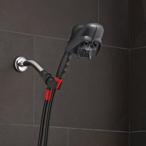 Oxygenics Darth Vader Handheld Shower Head Star Wars