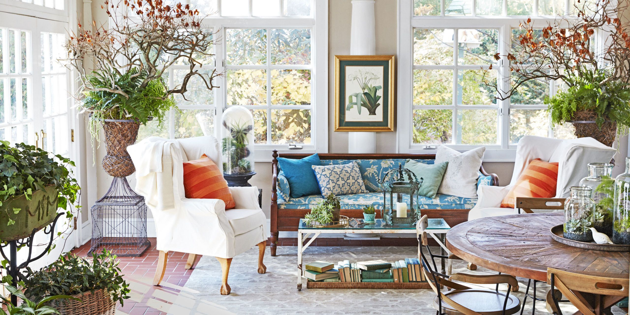 Delightful Deborah Herbertson Connecticut Cottage Sunroom. 10 Sunroom Decorating Ideas