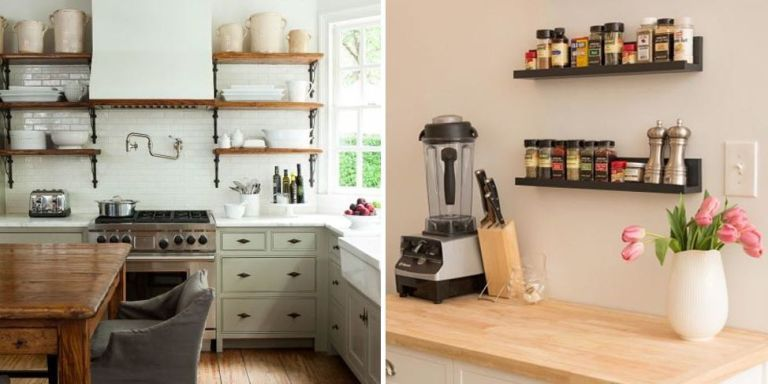 Elegant 12 Inspired Tricks For Small Kitchen Designs