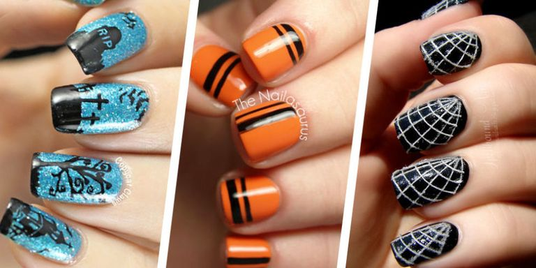 Whether ... - 55+ Halloween Nail Art Ideas - Easy Halloween Nail Polish Designs