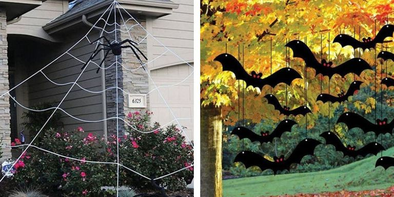 Halloween Decorations Ideas Yard 15 best outdoor halloween decoration ideas creative halloween if there was ever a time for over the top decorating its halloween with the holidays scary undertones and anything goes attitude toward playing dress up workwithnaturefo
