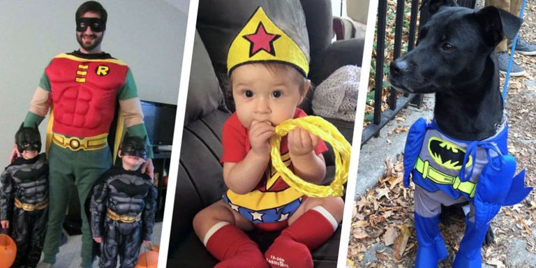 23 best superhero halloween costumes that kick all the butt 2017 dont even worry about getting in tip top shape before halloween superheroes come in all shapes and sizes these days even better some of these costumes solutioingenieria Image collections