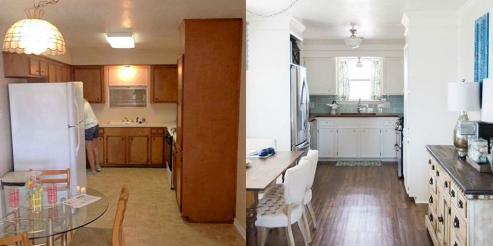 Donu0027t Let Previous Ownersu0027 Questionable Decor Choices Stand In The Way Of  Your Dream Kitchen. These Total Transformations Prove That Some White Paint  And ...