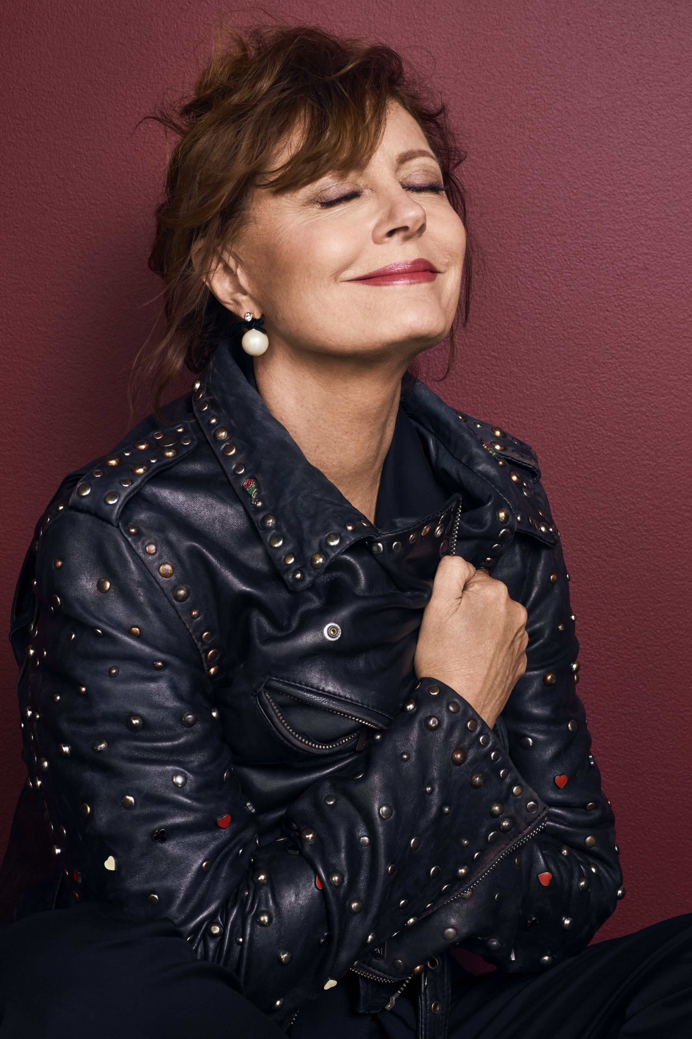 susan sarandon in jacket