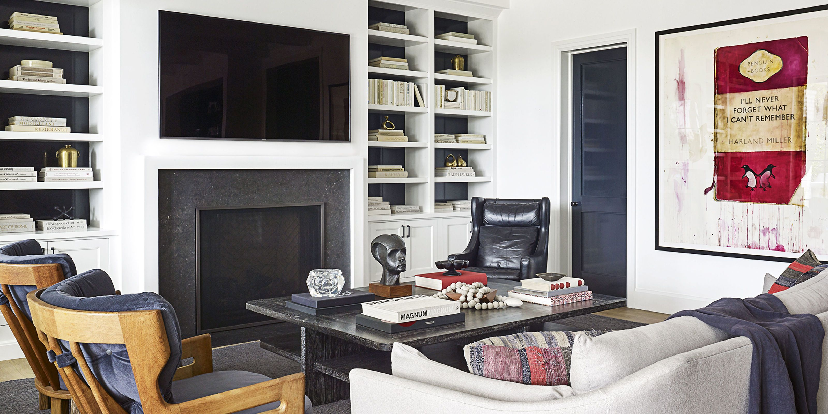 Molly Sims Living Room