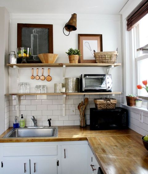 Open Kitchen Shelves Decorating Ideas: Why Open Wall Shelving Works For