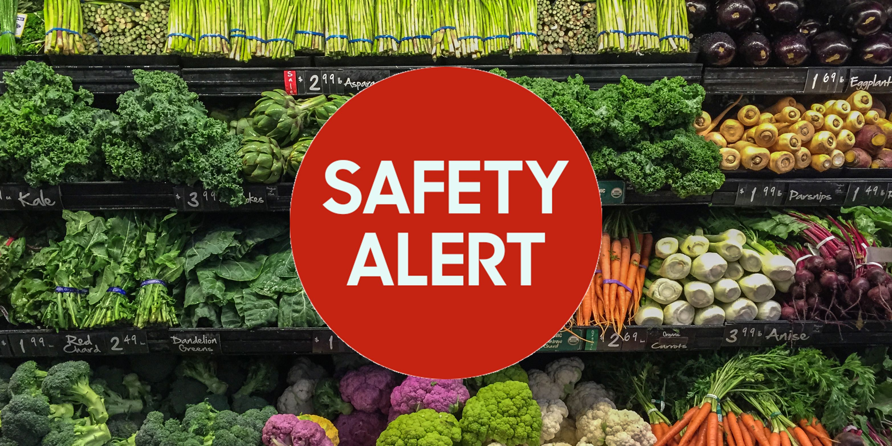 ALERT: Massive Recall of Packaged Vegetables Sold in Stores Throughout the U.S